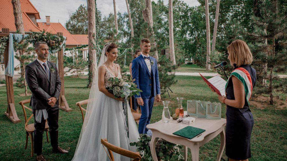 esküvő, szertartás Dánszentmiklós Hotel Botanica