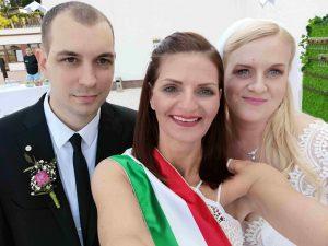Szertartásvezető, szertartásvezetés Vörös-Garai Szilvia